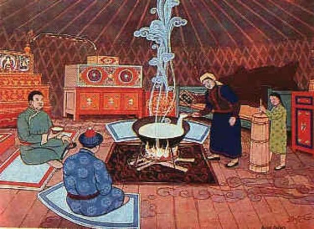 Монголчуудын цээрлэх ёсноос: Гадны хүний дэргэд үйлдэж болохгүй үйлдлүүд
